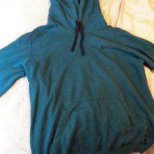 Nike women's dark teal hoodie